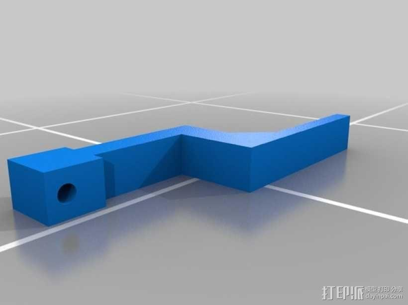 迷你遥控坦克 3D模型  图10