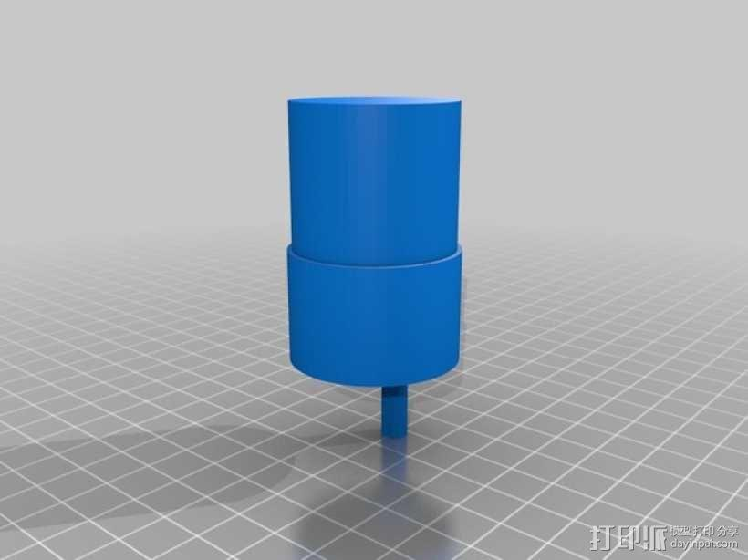 齿轮电动机  3D模型  图2