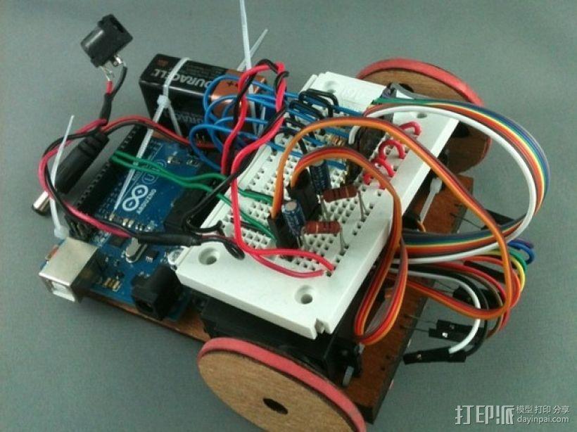 Arduino机器人 3D模型  图1