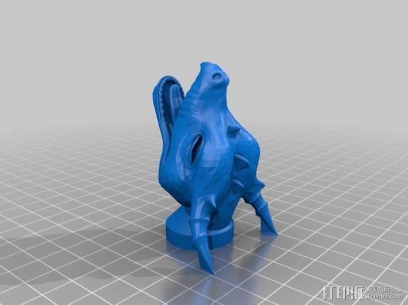 龙头 火箭前锥体 3D模型  图2