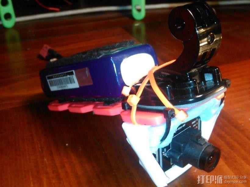 多轴飞行器 相机支架 3D模型  图2