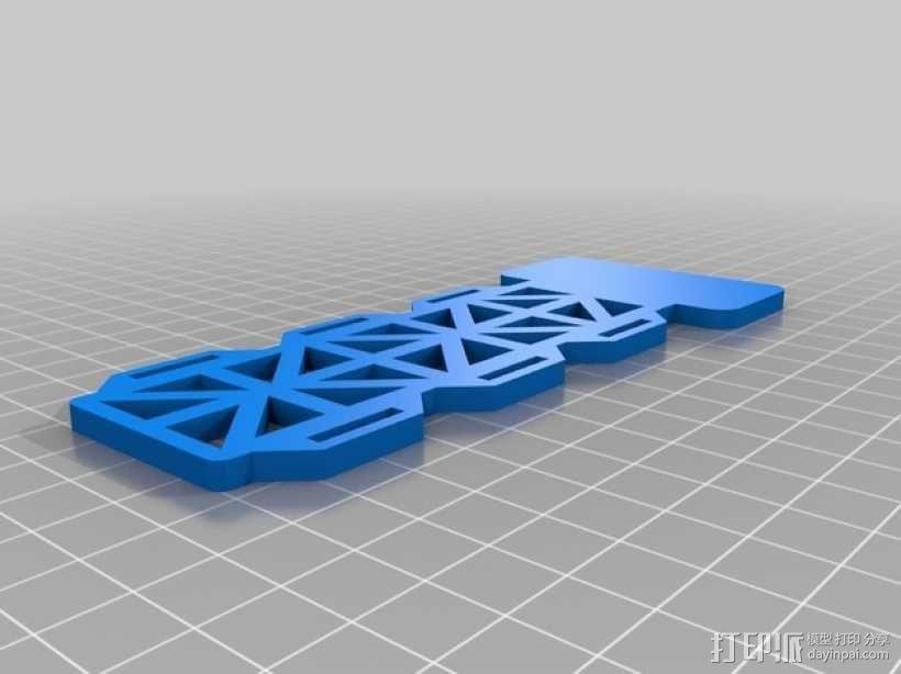 多轴飞行器 相机支架 3D模型  图5