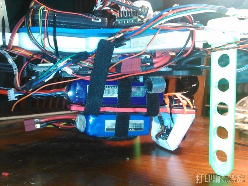 多轴飞行器 相机支架 3D模型  图4