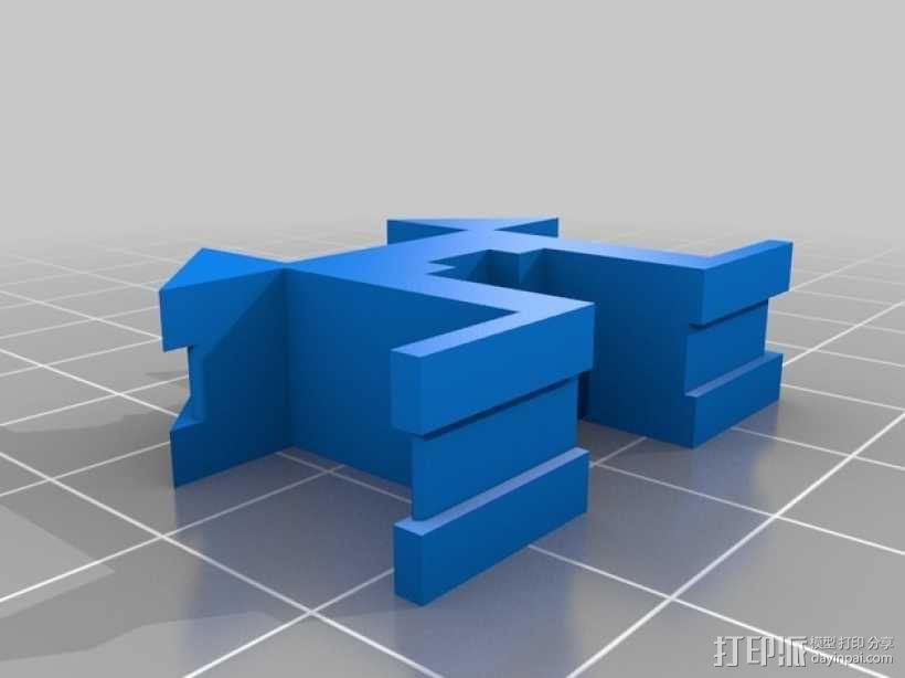可折叠三轴飞行器 3D模型  图5