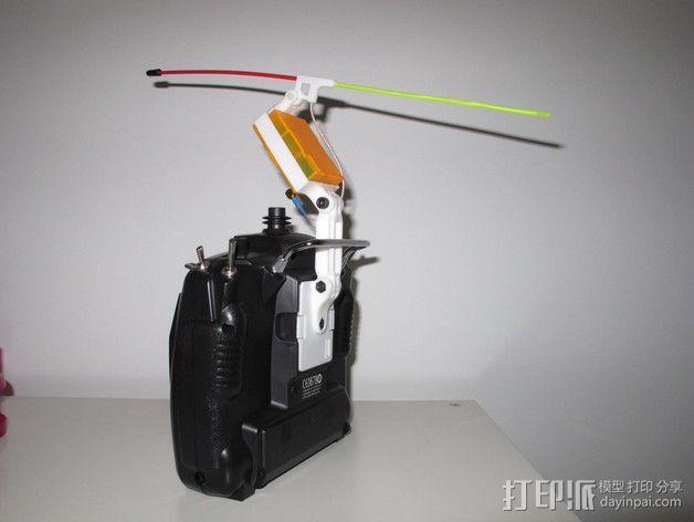 Turnigy9X天线配适器 3D模型  图2