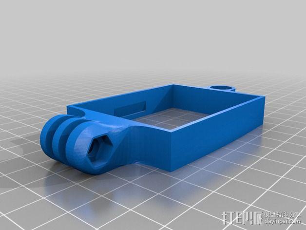Turnigy9X天线配适器 3D模型  图4