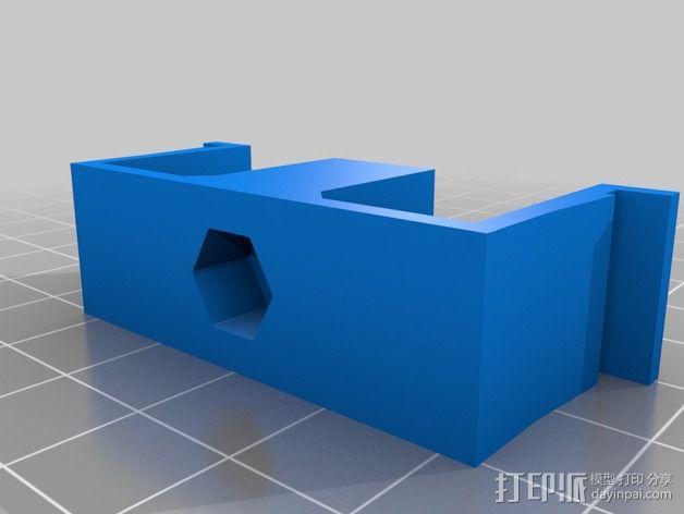 Turnigy9X天线配适器 3D模型  图7