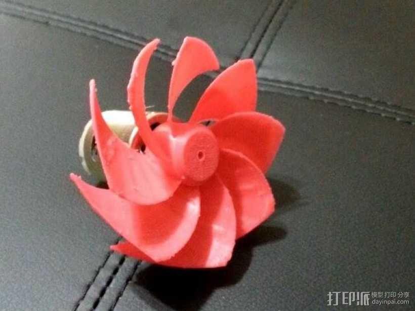 风扇扇叶 3D模型  图3