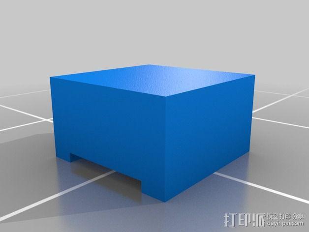 LED扩散器 帽盖 3D模型  图3