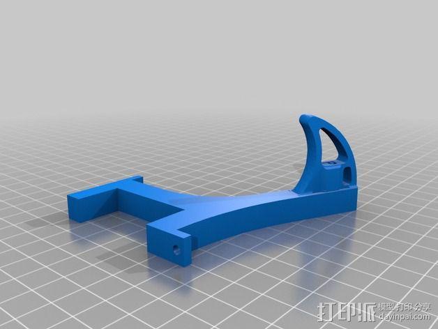 迷你多轴飞行器 可调节相机支架 3D模型  图8