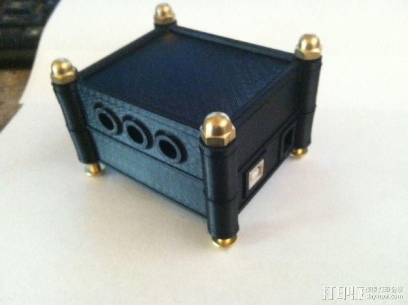 模块化Arduino Uno外壳 3D模型  图1