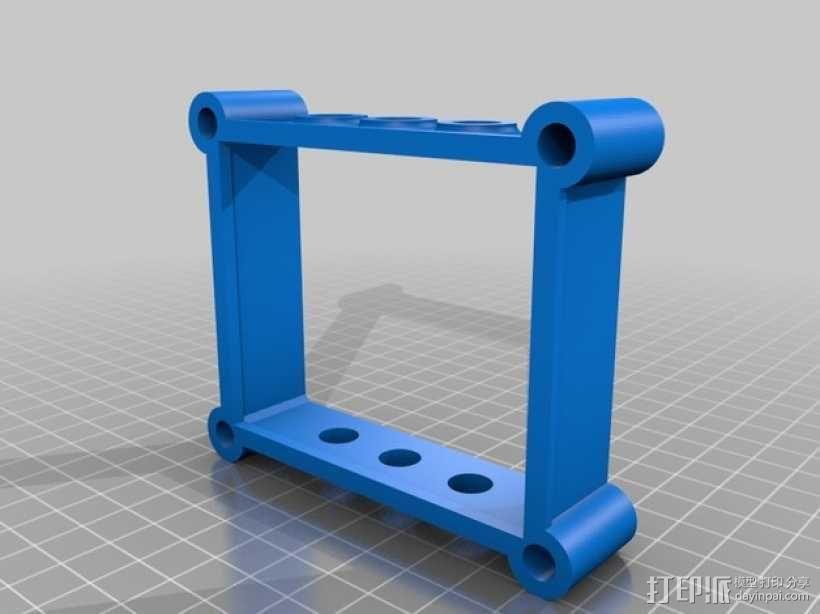 模块化Arduino Uno外壳 3D模型  图4