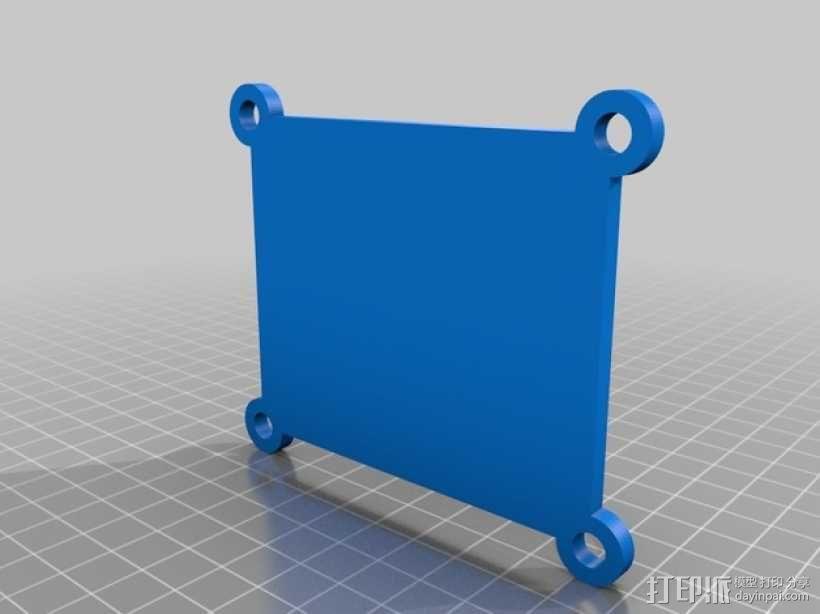 模块化Arduino Uno外壳 3D模型  图2