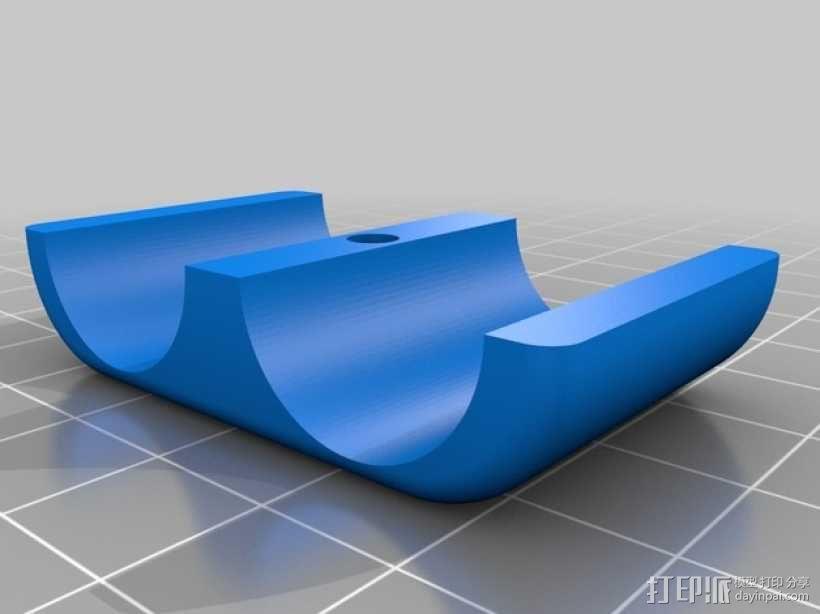 电池盒 3D模型  图2