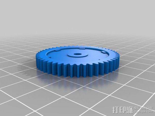 Quanum Vandal越野车零部件 3D模型  图3