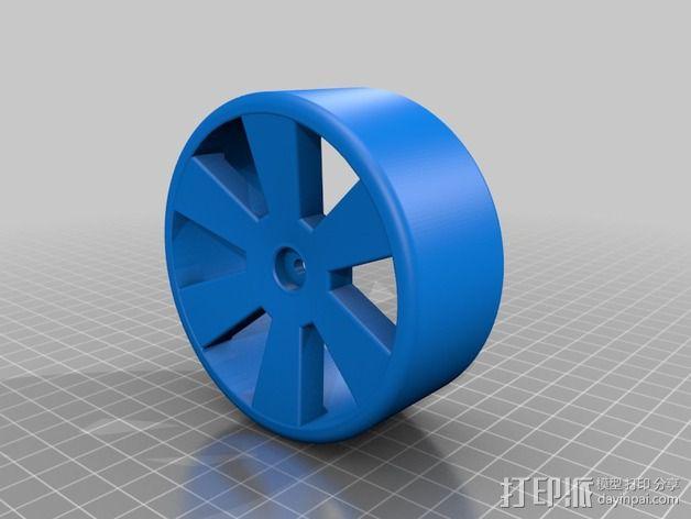 Quanum Vandal越野车零部件 3D模型  图4