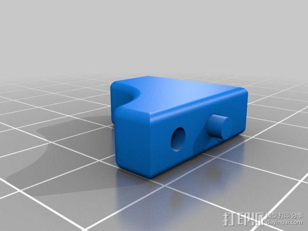 Quanum Vandal越野车零部件 3D模型  图5