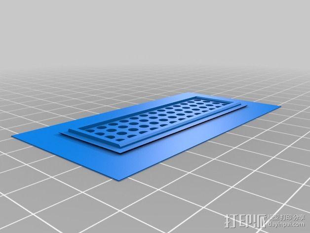 Quanum Vandal越野车零部件 3D模型  图7
