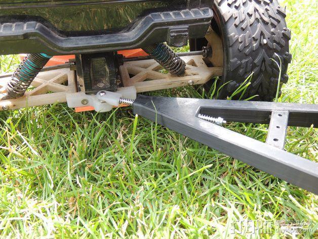 越野车 拖车 悬浮支架 3D模型  图8
