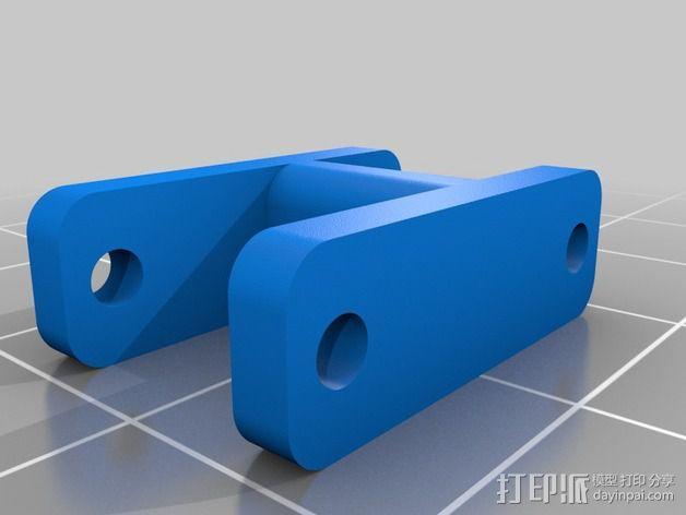 越野车 拖车 悬浮支架 3D模型  图9