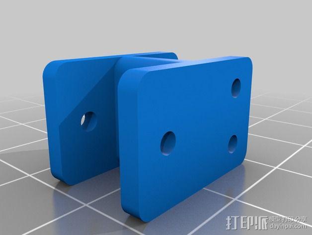 越野车 拖车 悬浮支架 3D模型  图10