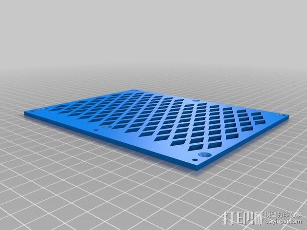 越野车 拖车 悬浮支架 3D模型  图12