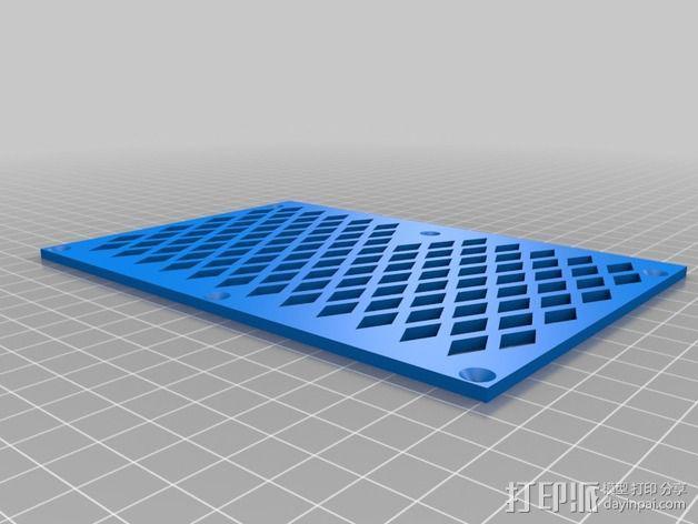 越野车 拖车 悬浮支架 3D模型  图13