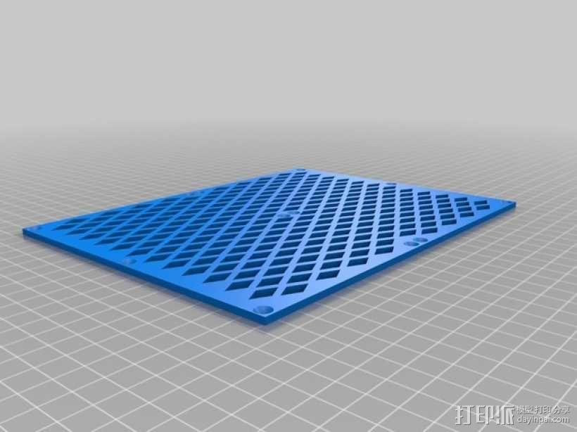 越野车 拖车 悬浮支架 3D模型  图14