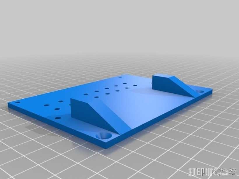 越野车 拖车 悬浮支架 3D模型  图16