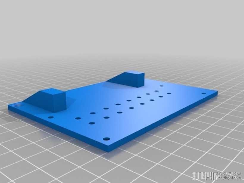 越野车 拖车 悬浮支架 3D模型  图18