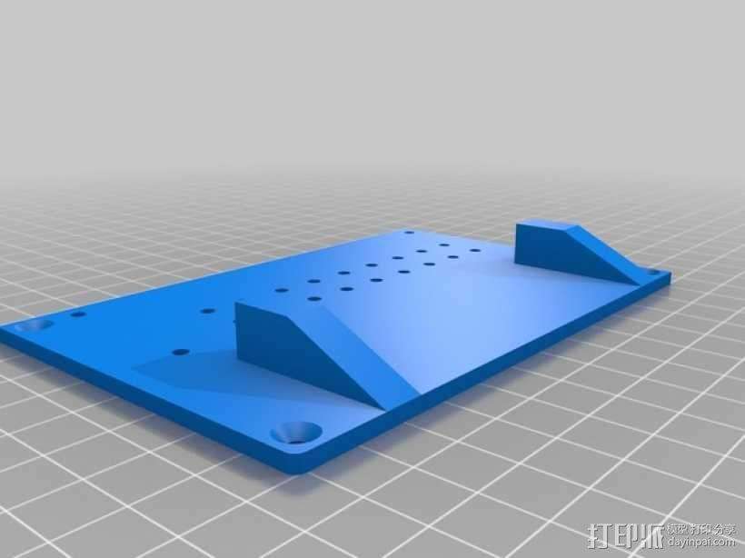 越野车 拖车 悬浮支架 3D模型  图17