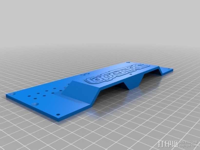 越野车 拖车 悬浮支架 3D模型  图19