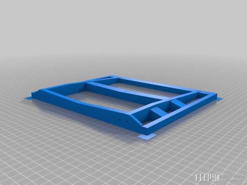 越野车 拖车 悬浮支架 3D模型  图20