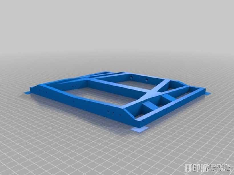 越野车 拖车 悬浮支架 3D模型  图21