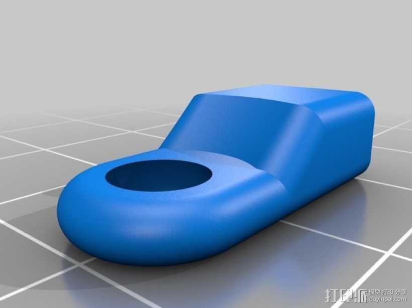 越野车 拖车 悬浮支架 3D模型  图25