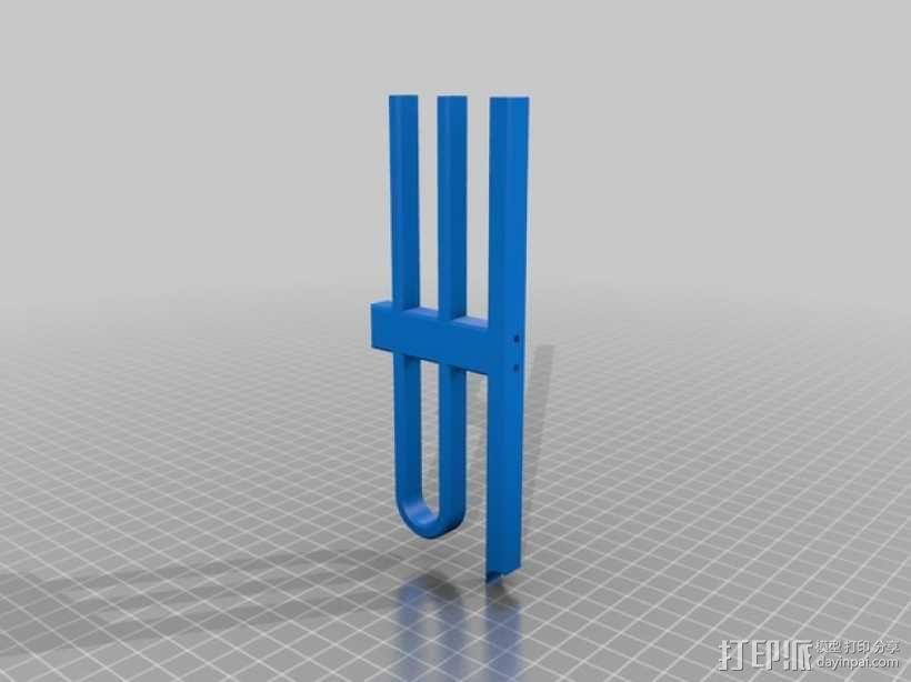 越野车 拖车 悬浮支架 3D模型  图28