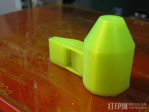 哨子 口哨 3D模型  图3