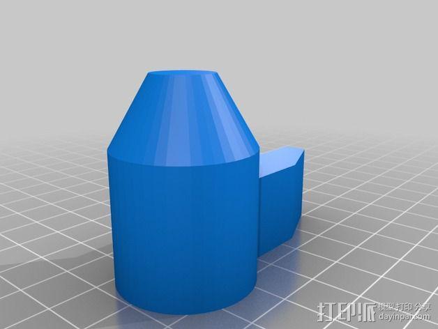 哨子 口哨 3D模型  图2