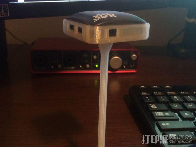 UBLOX 3DR GPS模块固底座 3D模型  图2
