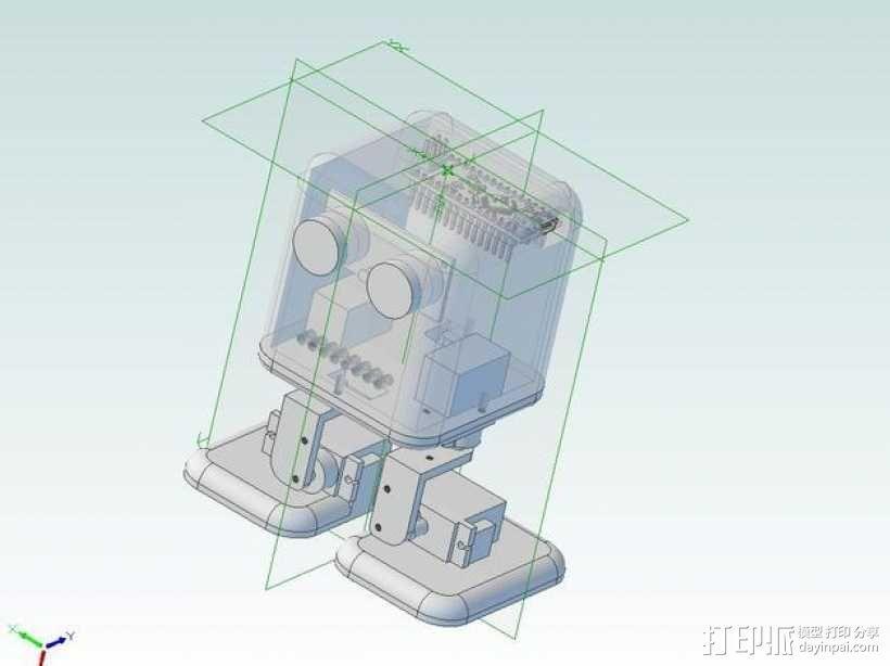 机器人鲍勃 3D模型  图2