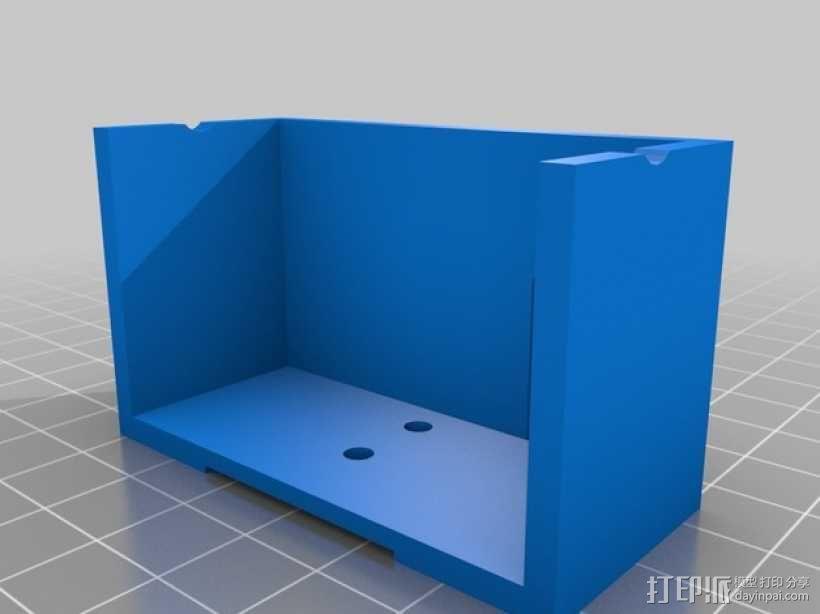 UHF 3天线零部件 3D模型  图4