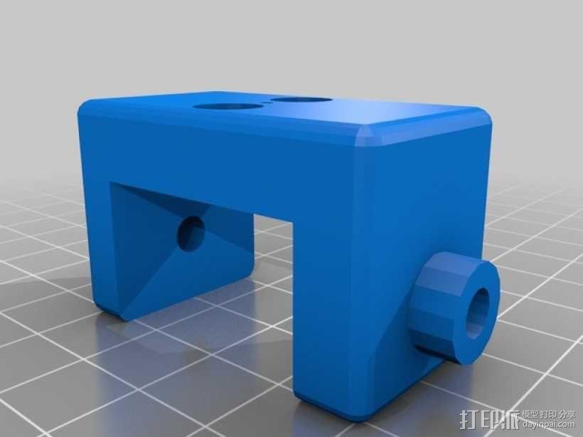 UHF 3天线零部件 3D模型  图6