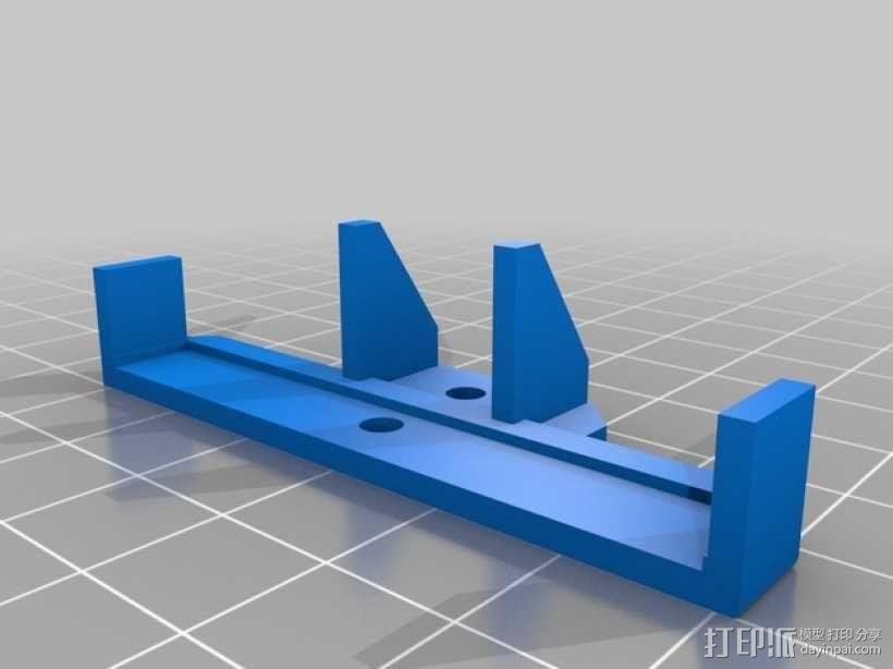 UHF 3天线零部件 3D模型  图8