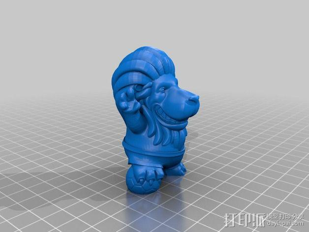 小狮子 3D模型  图2