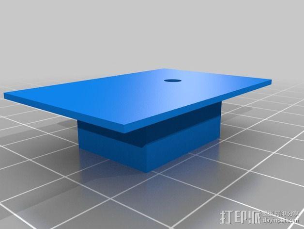 挤出机线材引导装置 3D模型  图2