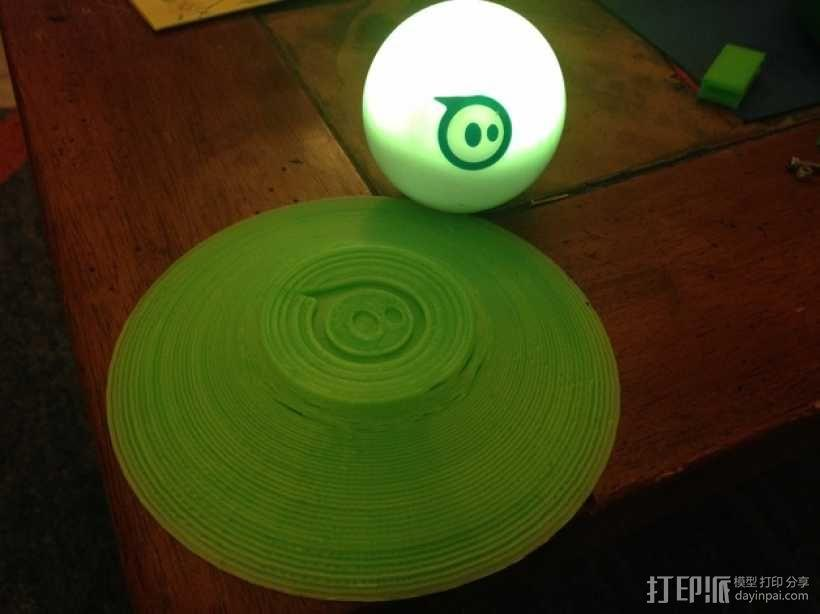 小球 底座 3D模型  图3