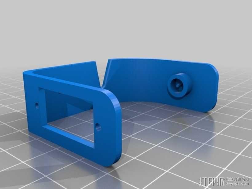 多轴飞行器常平架 3D模型  图4