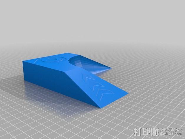 小球 L形底座 3D模型  图2