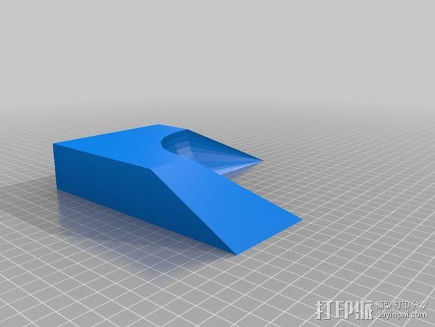 小球 L形底座 3D模型  图4