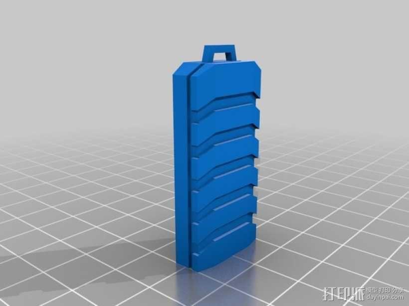 闪盘驱动器 外壳 3D模型  图2